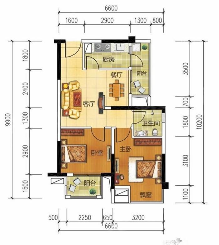 5号线北湖路站《优活时代》精装修 小户型两房 居家首选!!!